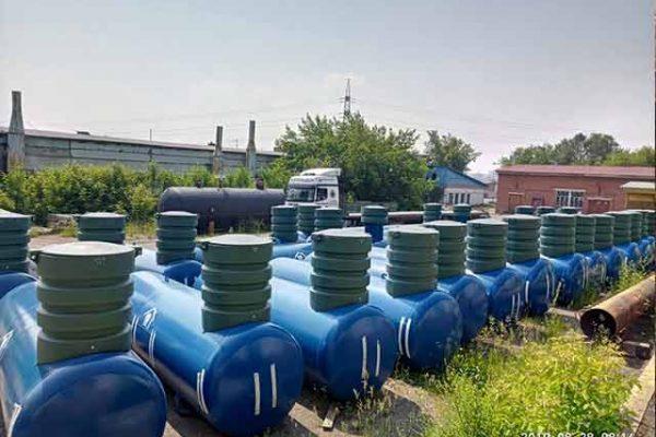 установка газгольдера в барнауле (2)